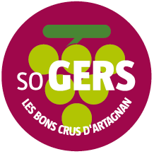 Badge SO GERS Les Bons Crus d'Artagnan