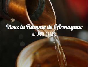 Une nouvelle expérience en ligne : la Flamme de l'Armagnac au coeur du Gers !