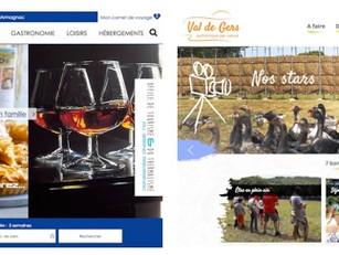 Des nouveautés web dans les Offices de Tourisme du Gers