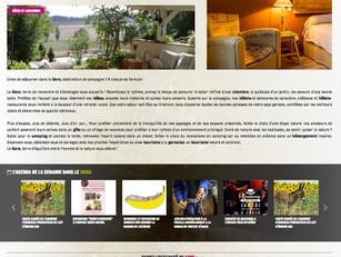 Un site web pour la promotion des hébergements de la Destination Gers !