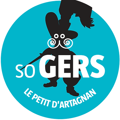 "Sticker SO GERS ""Le Petit d'Artagnan"""