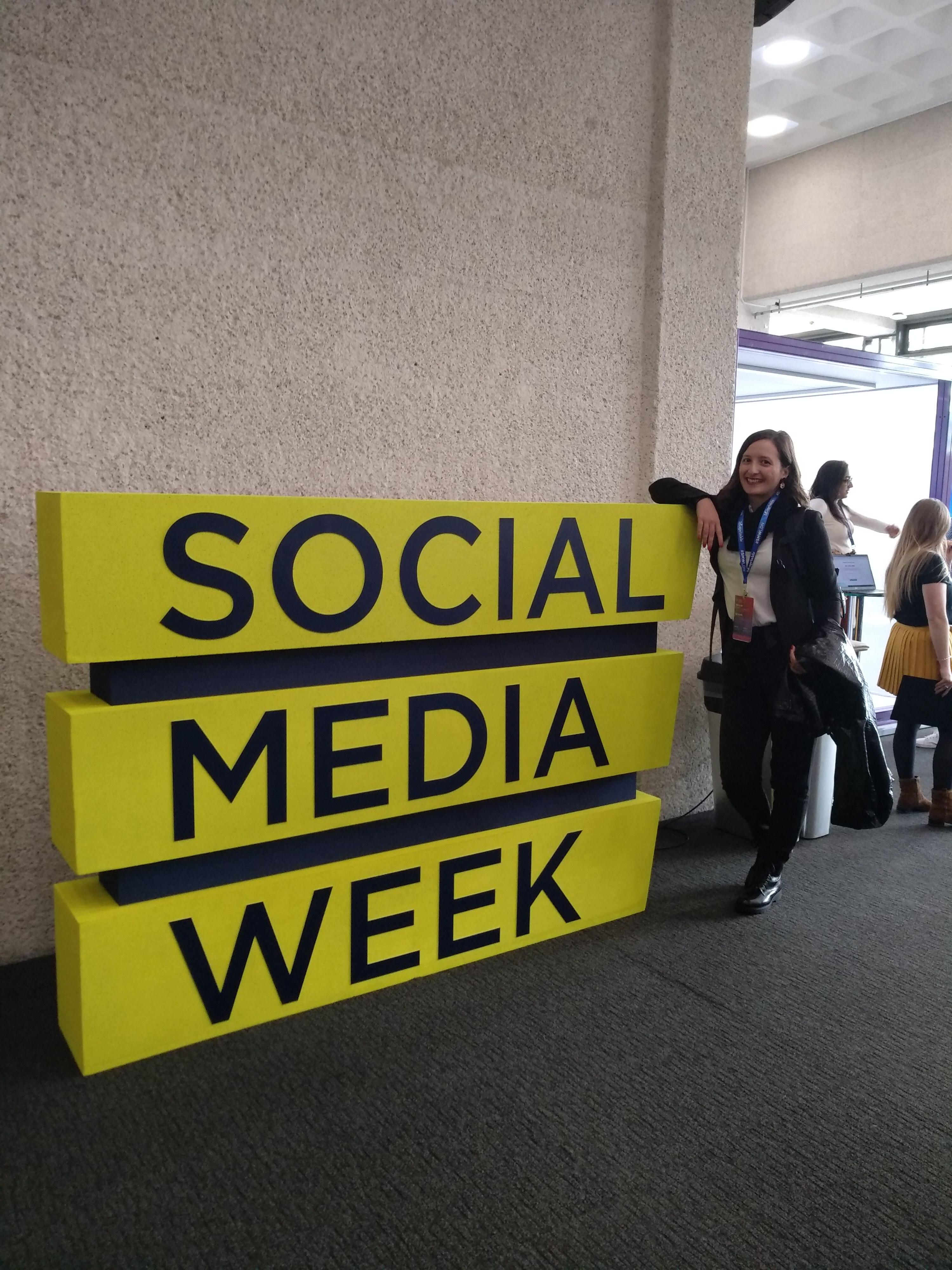 Social Media Week, Eleni Kolliga