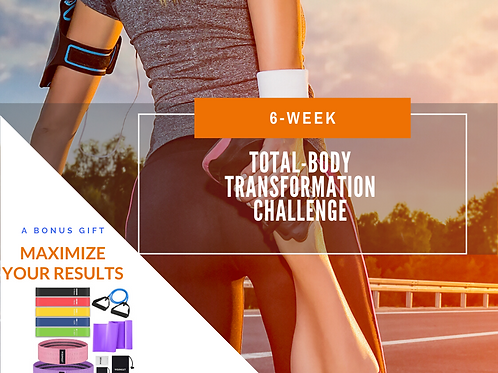 6-Week Transformation Challenge - Virtual Live Coaching