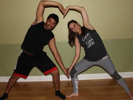 Valentine's Day Couples Yoga