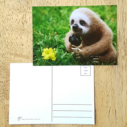 Elmer the Sloth Postcard