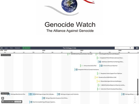 Genocide Watch Releases Detailed Timelines of Past & Ongoing Genocides