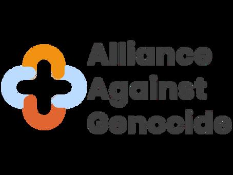 Alliance Against Genocide Newsletter - September
