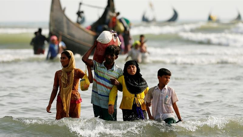 More than 750,000 Rohingya refugees fled Myanmar in 2017 [File: Mohammad Ponir Hossain/Reuters]