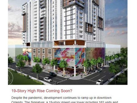 19 Story High Rise Coming Soon?