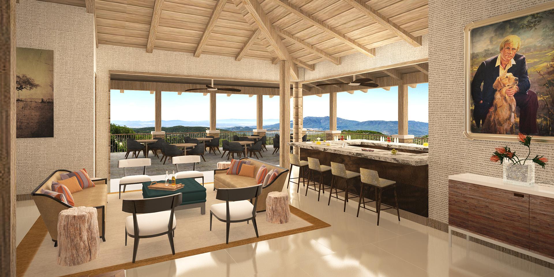 Lounge & Bar in Golf Club