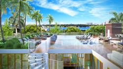 Miami Beach Hotel Pool Deck