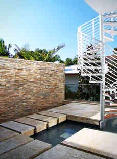 Courtyard Spirarl Stairs