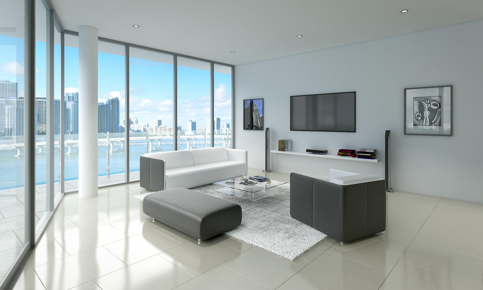 High Rise Living Room