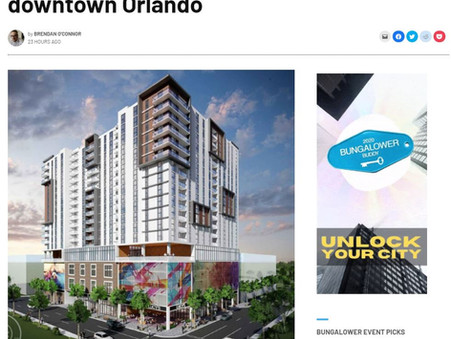 MPB approves 19-story co-living tower in downtown Orlando