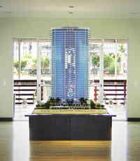 Sales Center Scale Model