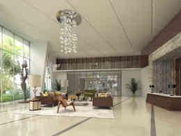 Luxury High Rise Lobby