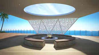 Luxury Roof Terrace