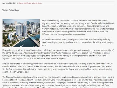 Flux Architects' principal Edgar Gonzalez featured on Capital Analytics