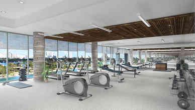 Condo Gym Area