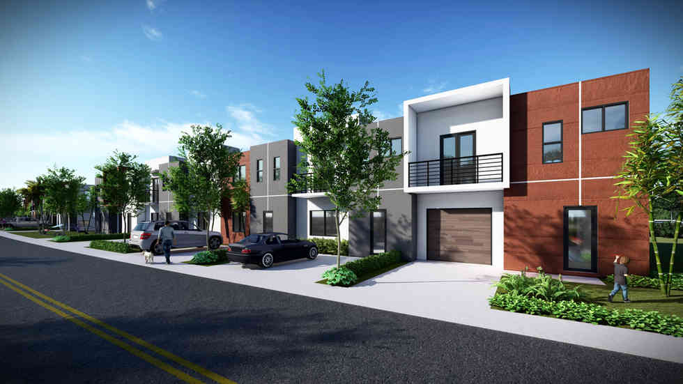Townhouse Master Plan - Orlando, FL