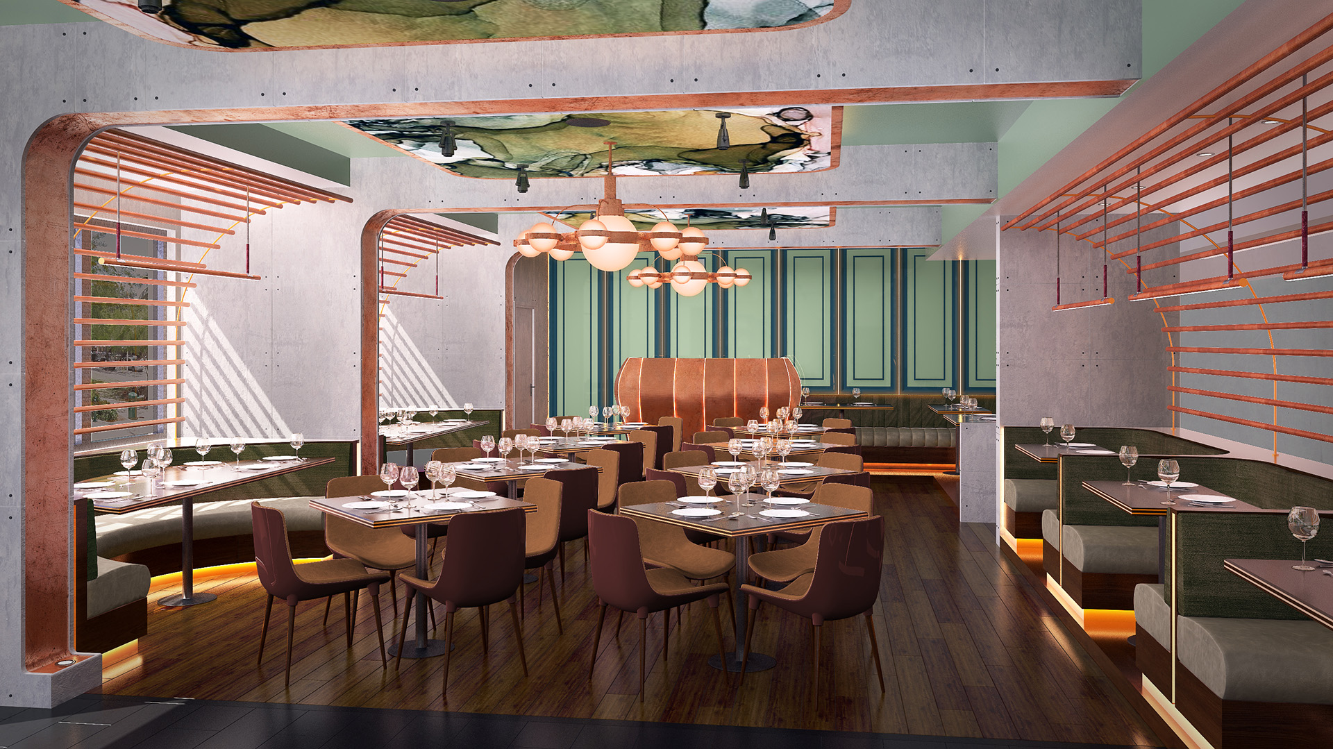 Restaurant Concept in Del Rey Beach
