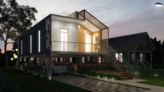 Eco-Friendly / Affordable House