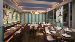Private Dining Area in Restaurant