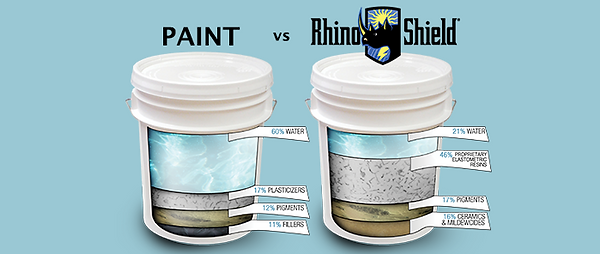 Paint vs Rhino Shield