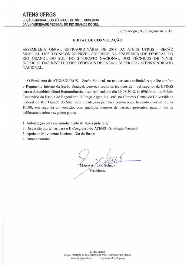 Convocação Assembleia_Dia do Basta_2018-