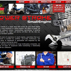 Power Stroke Small engine