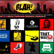 blah! t-shirts