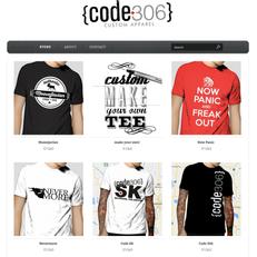 Code306 T-shirt store