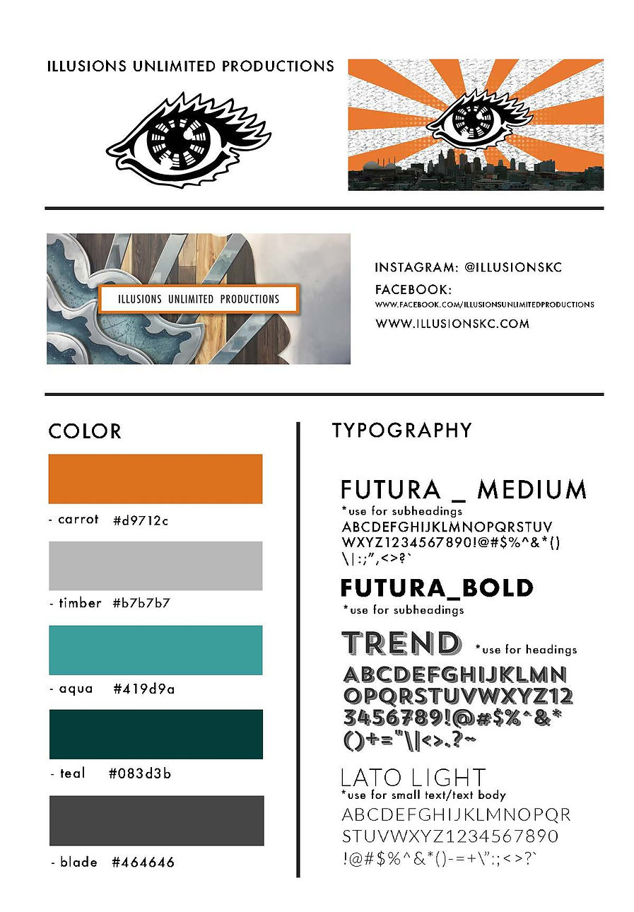 Style Guide Illusions Unlimited low res.