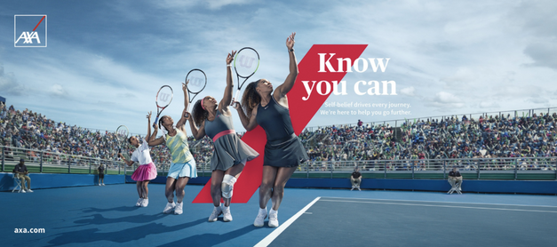 AXA Serena Williams
