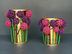 allium vases