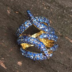 BLUE SAPPHIRE PAVE #SEN10RG890