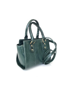 SEA SNAKE SMALL SATCHEL FOREST GREEN $49