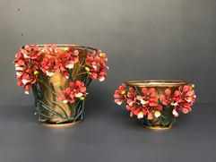 royal poincianna vases