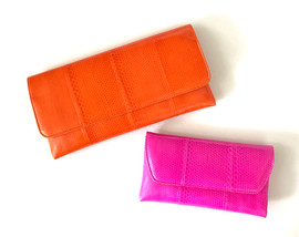 L'ODÉON LARGE CLUTCH ($350-$385), SMALL ($295-$325)