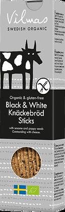 Black & White Knäckebröd Sticks (120 g)