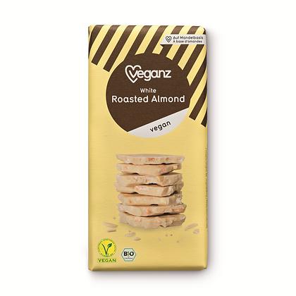 White Roasted Almond Organic 80g