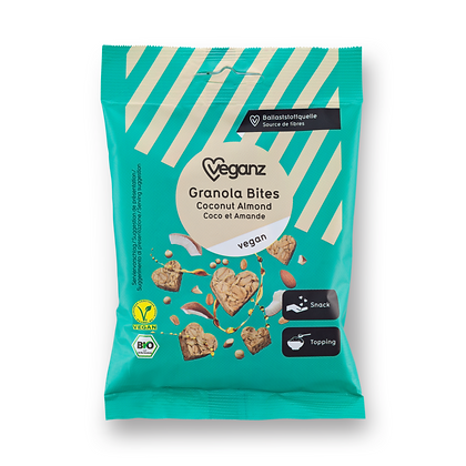 Granola Bites Coconut Almond Organic 50g