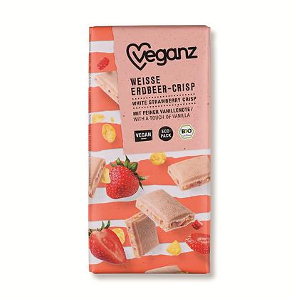 White Strawberry Crisp Organic 80g
