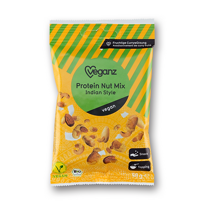 Indian Style Protein Nut Mix Organic 50g