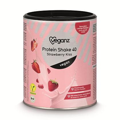 Strawberry Kiss Protein Shake Organic 40 300g