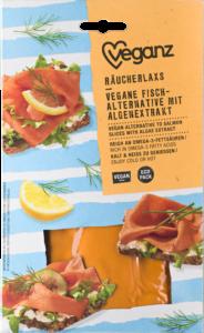 Alternative to Salmon Slices with Algae Extract