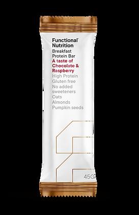 Breakfast Protein Bar (45 g) - Chocolate & Raspberry
