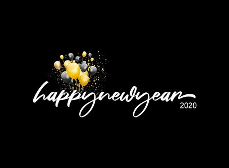 Good Bye 2019, Hello to new opportunities...