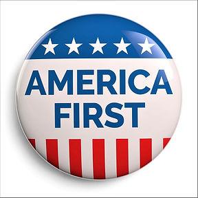 BLEXITTEXAS AMERICA FIRST BUTTON 20 perc