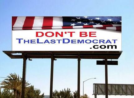 New TheLastDemocrat.com Billboard TinyPN